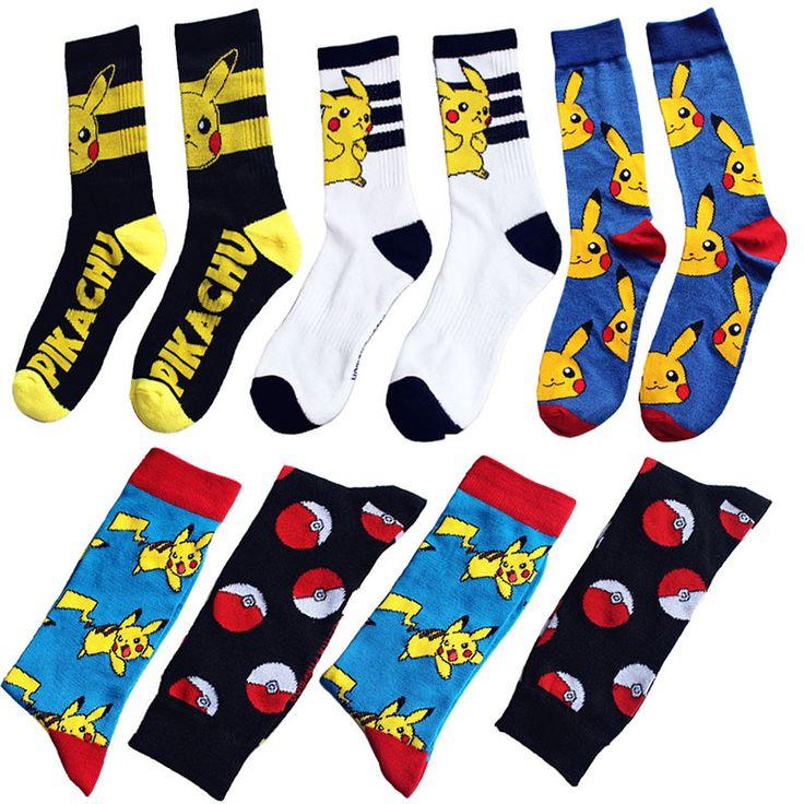 Cute Pokemon Socks Men & Women //Price: $9.99 & FREE Shipping //