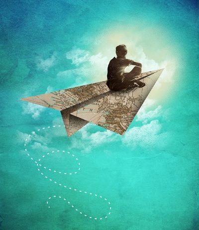 Paper Aeroplane  by Dan Elijah G. Fajardo