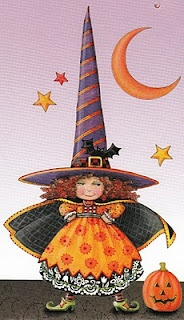 Mary Engelbreit - little witch - tall hat!