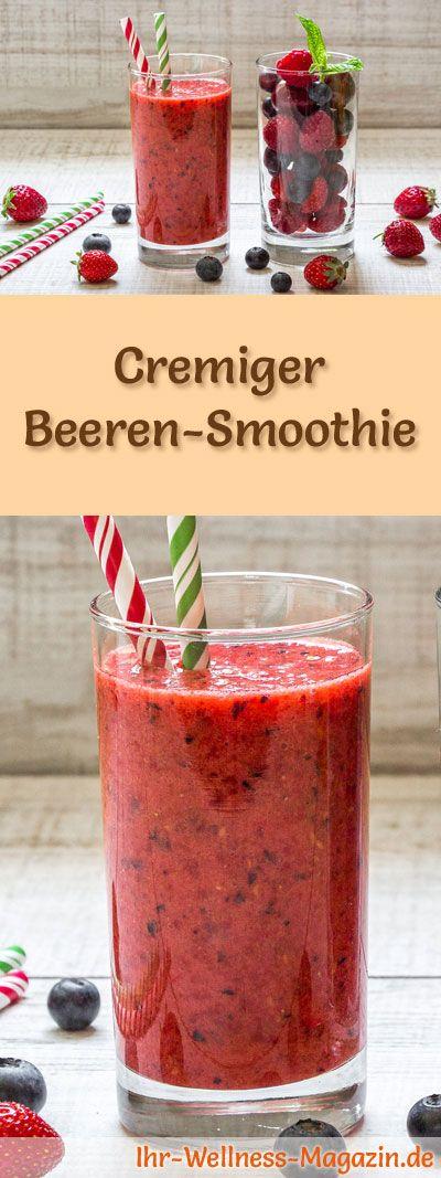 Einen Beeren-Smoothie selbst herstellen – ein gesundes Smoothie-Rezept zum Abnehmen …   – Smoothies & Shake-Rezepte zum Abnehmen