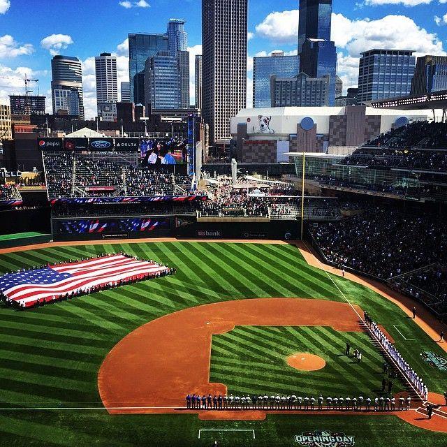 Target Field in Minneapolis Photo credit: Ben Brueshoff #OnlyinMN