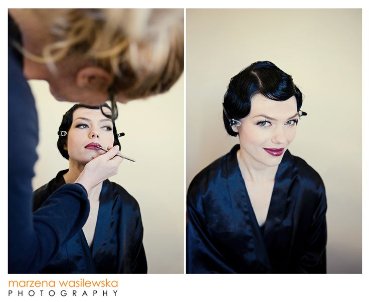 """Machinal"" hair and makeup ideas 20s hair and makeup speakeasy vintage"