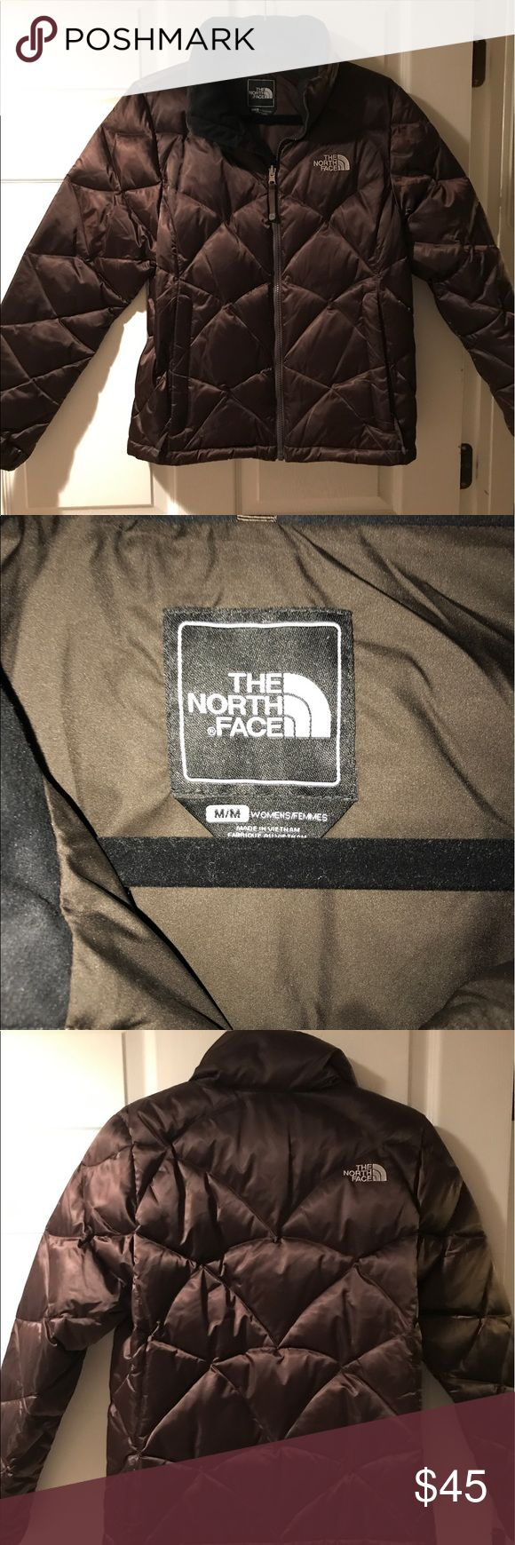 Women's North Face winter jacket (medium) Women's North Face winter jacket (brown), size medium.  Rarely worn, almost new The North Face Jackets & Coats Puffers