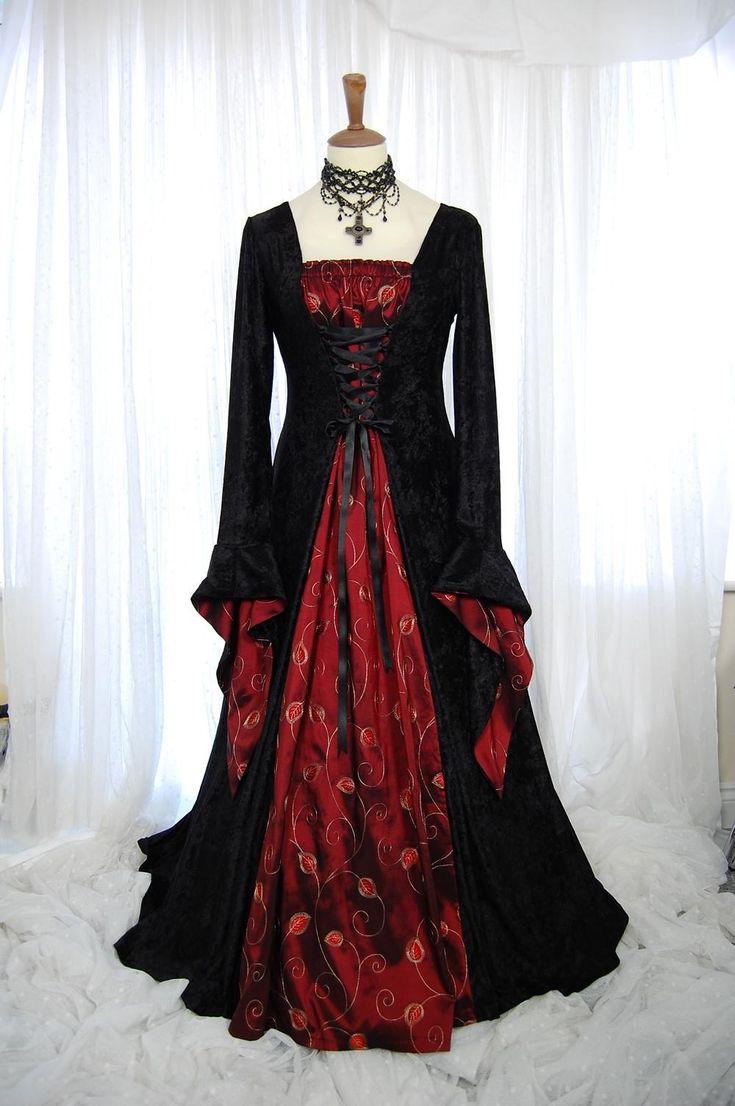 Black Gothic Wedding Dresses