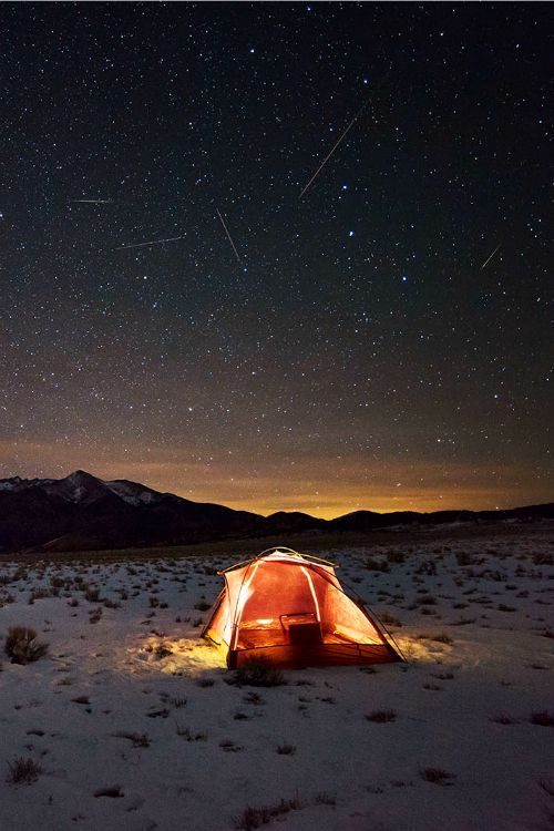 Night under the stars #outdoor #camp