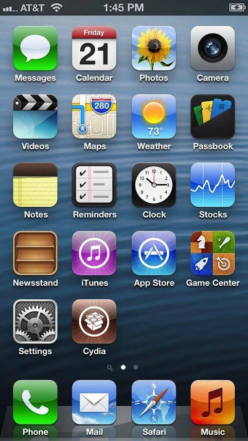 """iPhone 5′in piyasaya çıkışından henüz günler geçmesine rağmen iPhoneseverlerin yakından tanıdığı bir isim olan Chpwn twitter hesabından bir twit paylaştı. Jailbreak konusunda tanınan bir hacker olan Chpwn twit te """"Büyük Ekranı Cydia da Sevdi"""" diyordu. Iphone 5 jailbreak haberini bir de resimle perçinleyen hacker şimdilik başka bir bilgi paylaşmadı. Detay için:http://www.binbirbilgi.org/iphone-5-ios-6-jailbreak-nasil-yapilir/"""