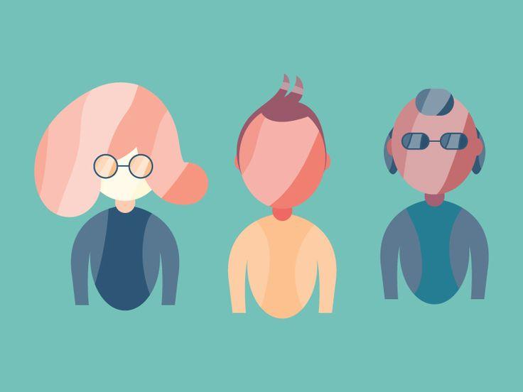 Characters by Katerina Limpitsouni