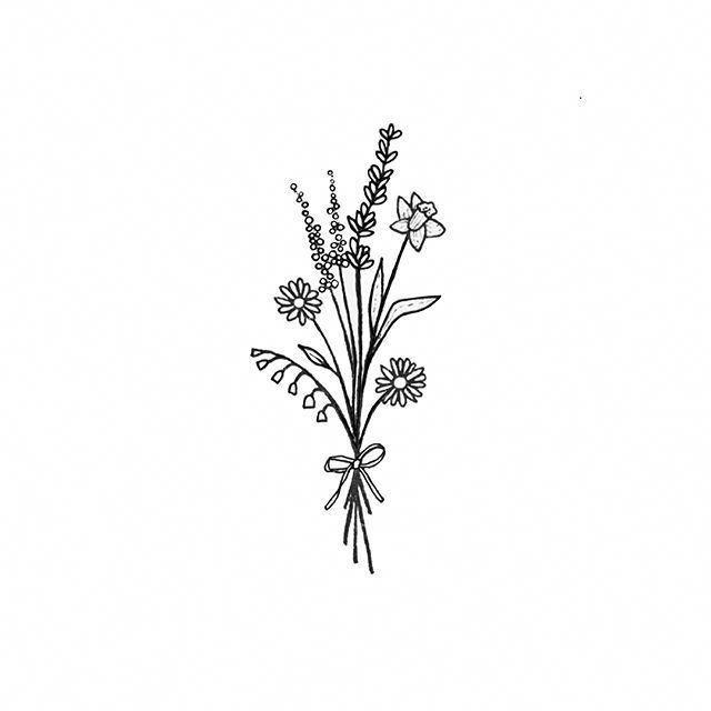 Flower Tattoo | Flower tattoos | Tattoos, Wildflower ...