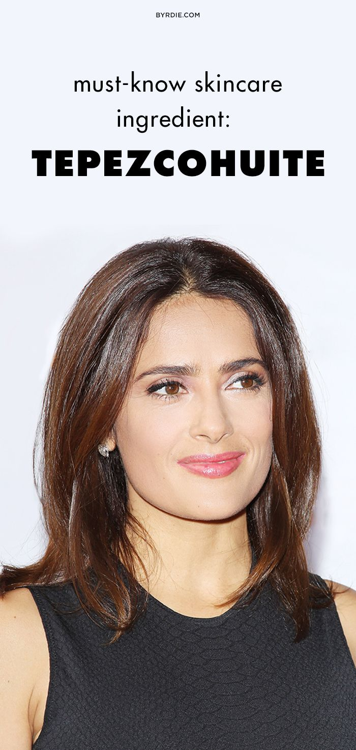 This natural Mexican ingredient Salma Hayek swears by might be the cure for your acne, inflammation, and wrinkles