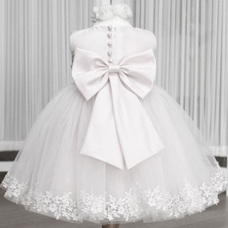Butterfly Flower girl dress baby princess bow layered ball gown wedding toddler #weddingdressypageantgirldress #weddingpartydressy