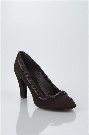 Koyu Kahverengi Ayakkabı
