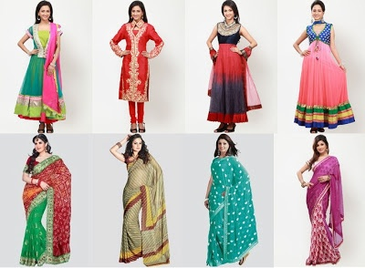 Buy Barcode-91 Sarees and Suit Sets and dress materials online in India