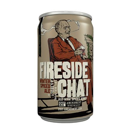 21st Amendment Fireside Chat - History Nerd Beer - I want it!!