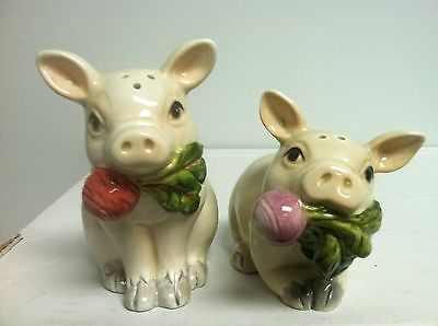 Vintage Fitz and Floyd Classic French Market Salt Pepper Shakers | eBay
