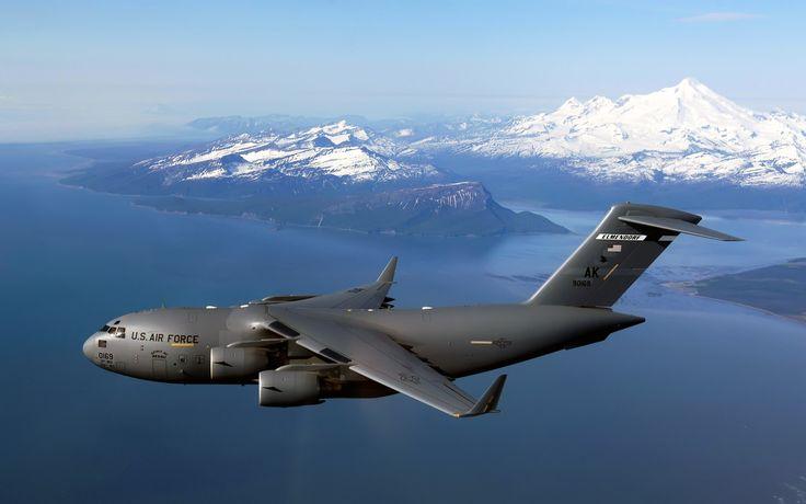 Image detail for -III Over Alaska HD Wallpaper, C 17 Globemaster III Over Alaska ...