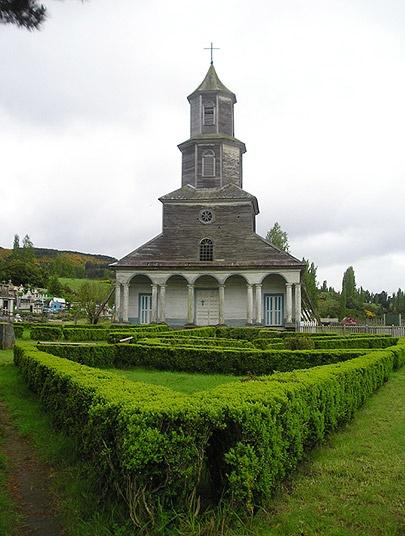 Nercón, Isla de Chiloé, Chile.