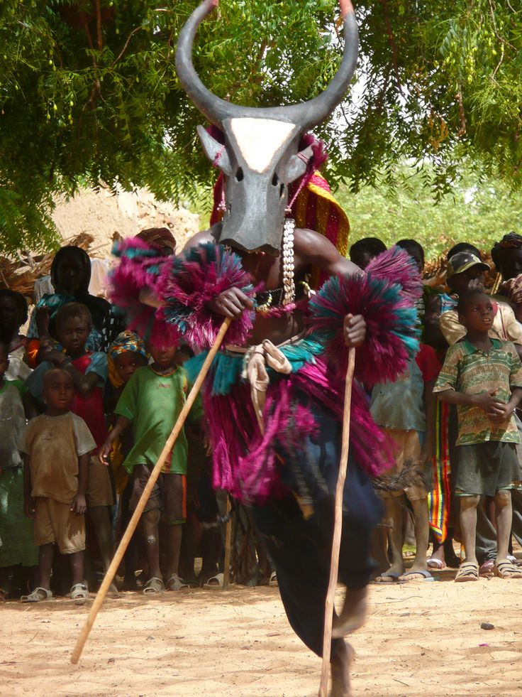 Dogon Bull Mask