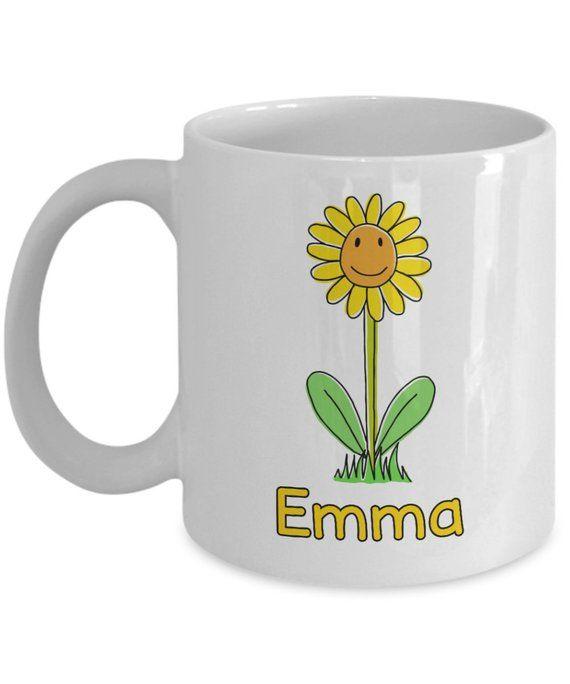 custom name sunflower coffee