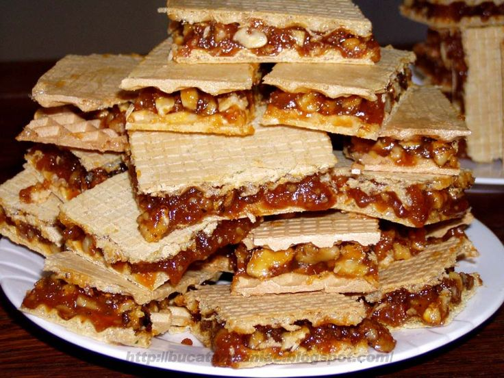 Napolitane cu nuci si caramel RECIPE