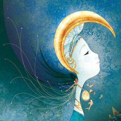 Cathy Delanssay - ilustator decijih knjiga - Page 6 7a4e840c1c8f712e00dc61f10d813c5e--starry-nights-art-nouveau