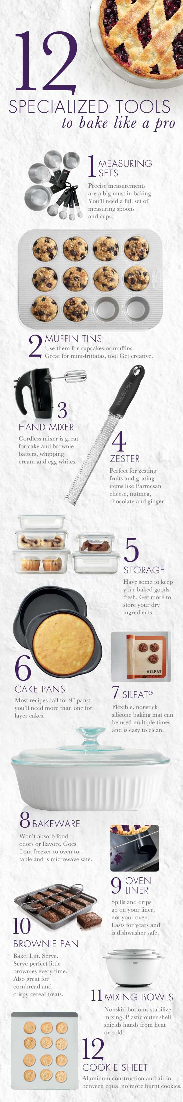 12 Must-Have items for #baking.