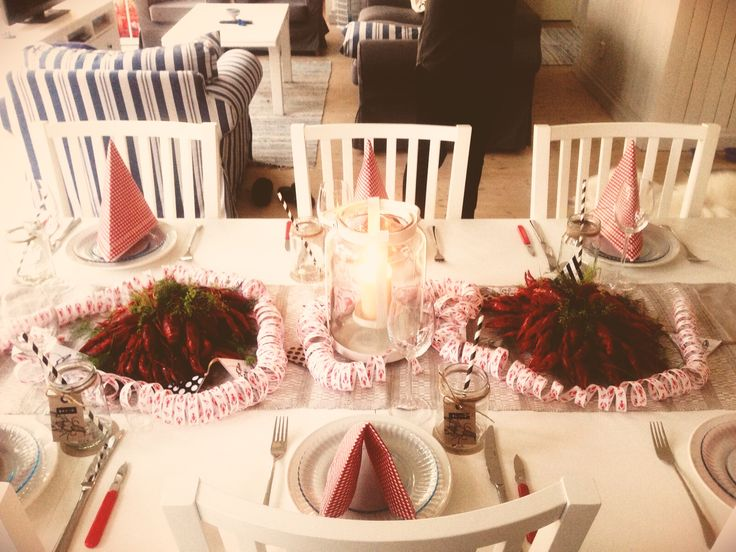 CRAYFISH PARTY / STYLING / IDEAS / DECORATION / TABLE SETTING / PARTY PLANNING / DIY