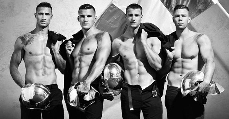 Si has soñado con un chico en uniforme, estos bomberos franceses harán tu sueño realidad con el calendario más sexy de 2017 ¡Será lo más ardiente que verás!