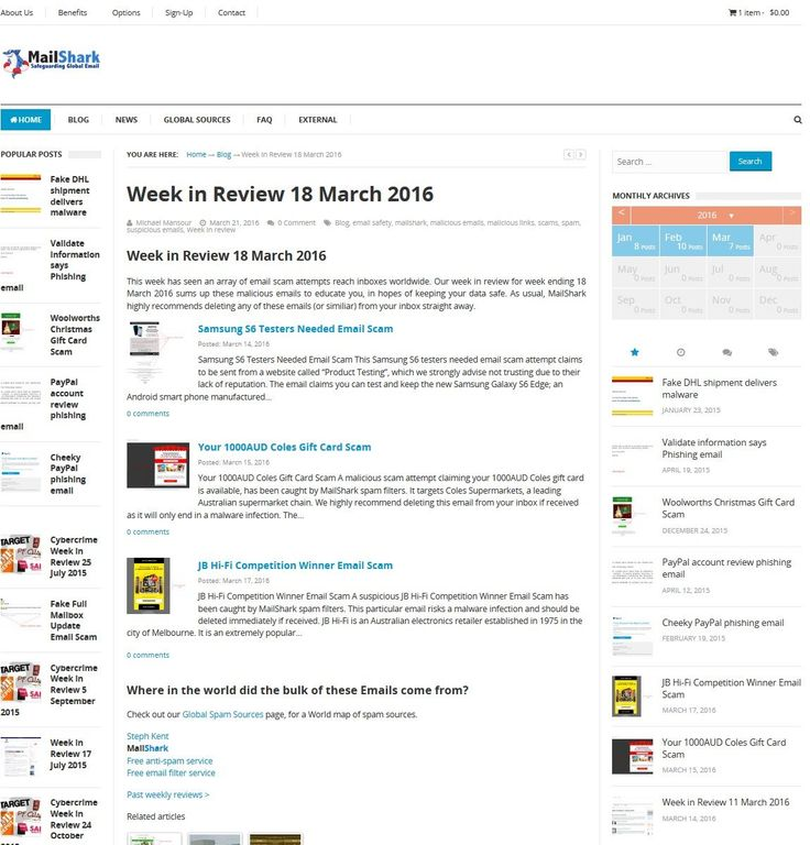 Week in Review 18 March 2016 - http://www.mailshark.com.au/blog/week-in-review-template-copy-24224
