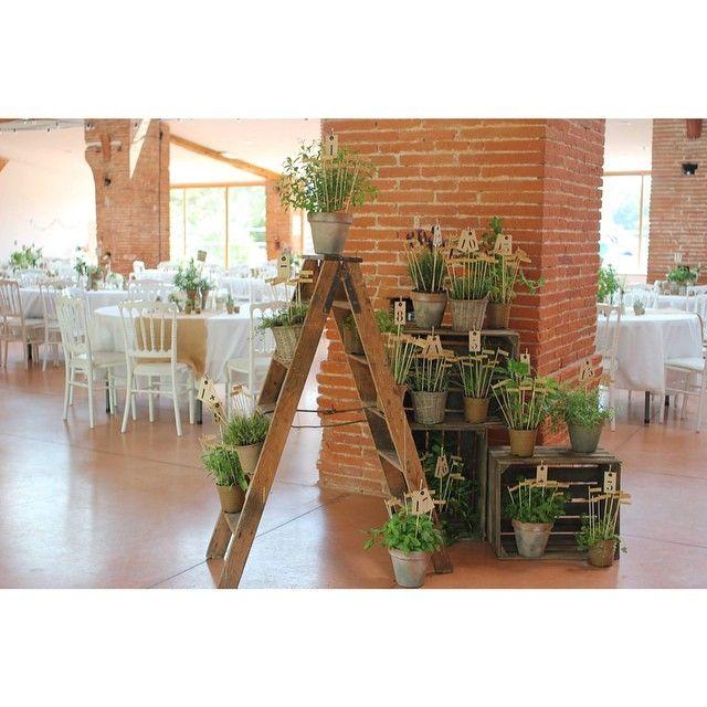 { Aurélie & Guillaume } plan de table autour des aromates #wedding #mariage #plandetable #aromate #decoration #detail