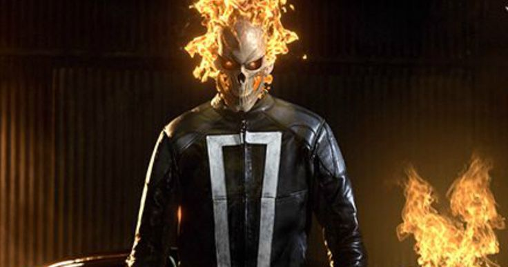 Ghost Rider Fully Revealed in Agents of S.H.I.E.L.D. Season 4 -- Gabriel Luna's Robbie Reyes gets fired up in the latest look at Ghost Rider in Agents of S.H.I.E.L.D. Season 4. -- http://tvweb.com/agents-shield-season-4-ghost-rider-first-look-photo/