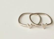 Heart rings by Dear Rae