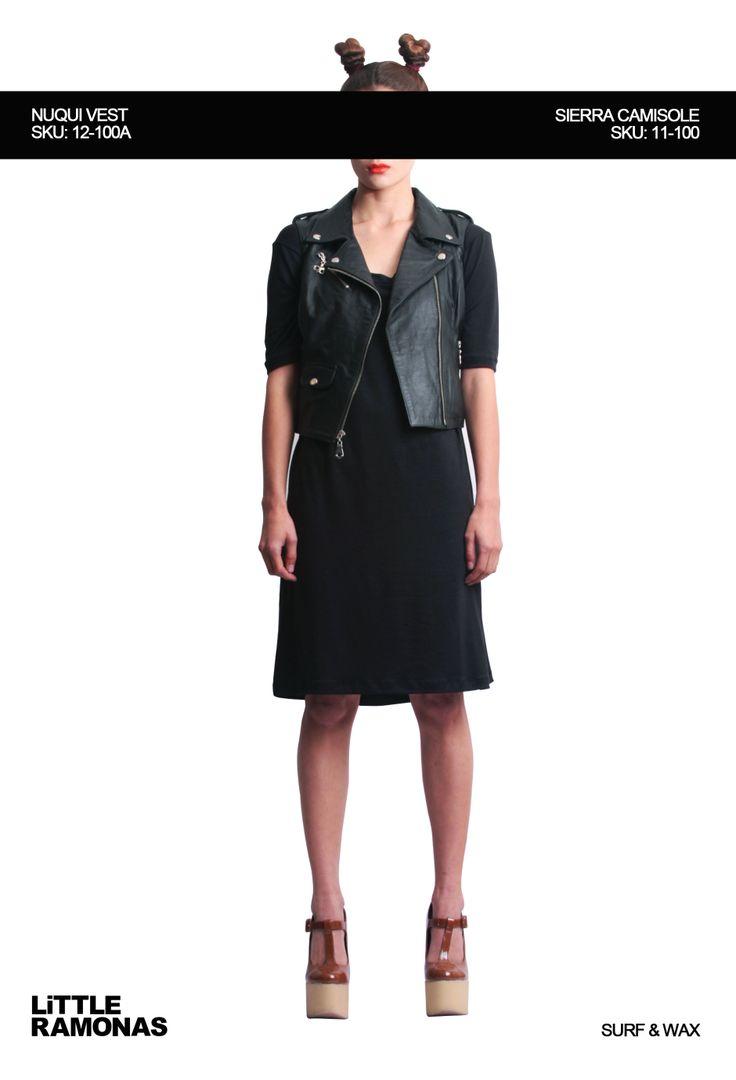Nuqui Black Vest www.littleramonas.com