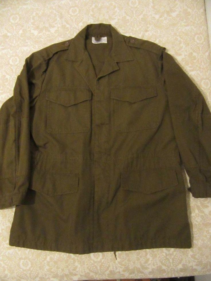 vintage rare vietnam era 1975 military field jacket sz XL
