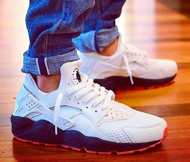 Nike Huarache On Feet Men