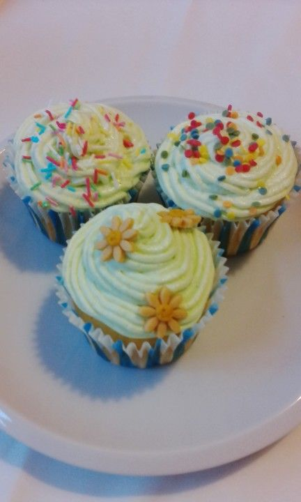 My first cupcakes