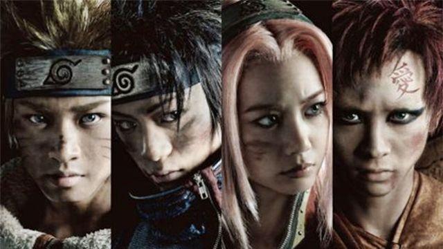 Naruto Müzikali Kostümleri Harika Duruyor