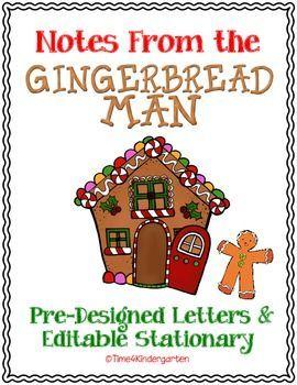 Time 4 Kindergarten: Gingerbread Man on the Run