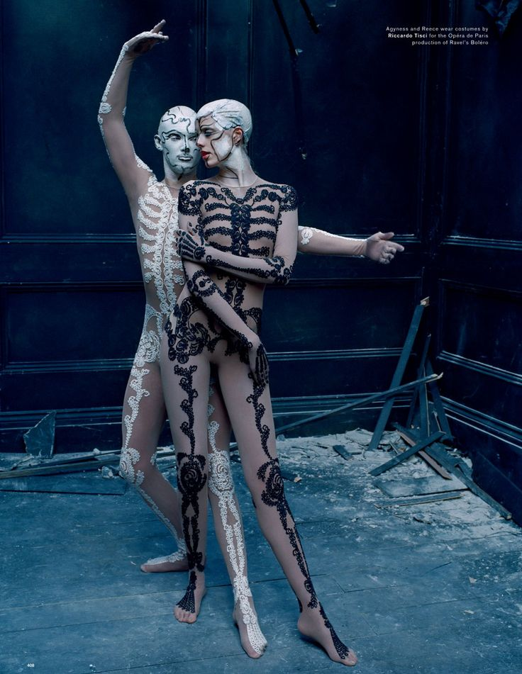 Dance of Death with Agyness Deyn by Tim Walker, Love Magazine Spring/Summer, 2015.