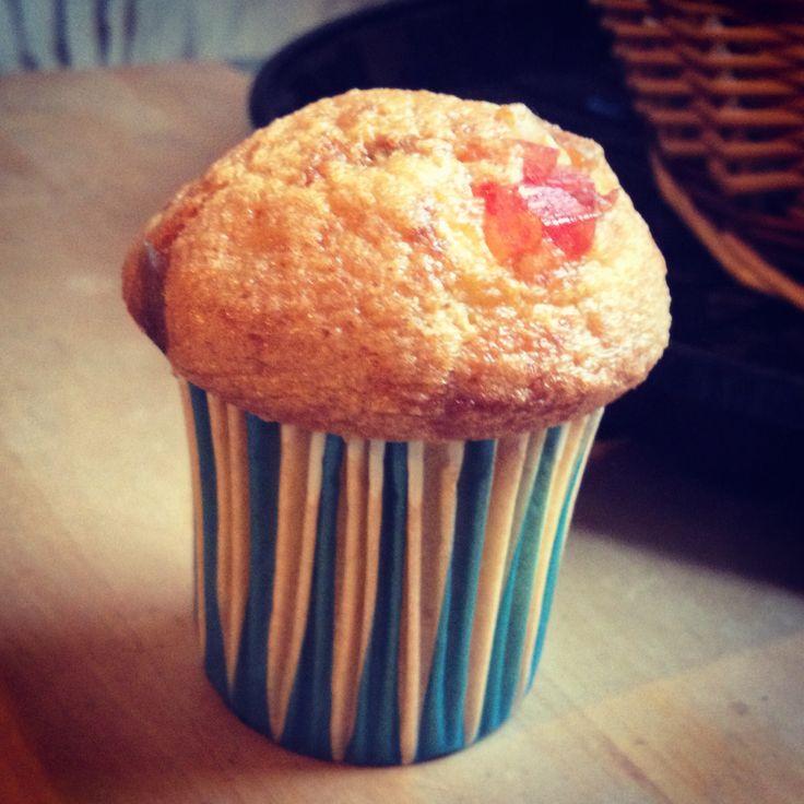 Muffins fruits confits