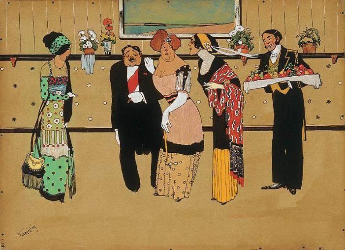 Blog of an Art Admirer: FARAGÓ GÉZA (1877-1928) Hungarian Artist