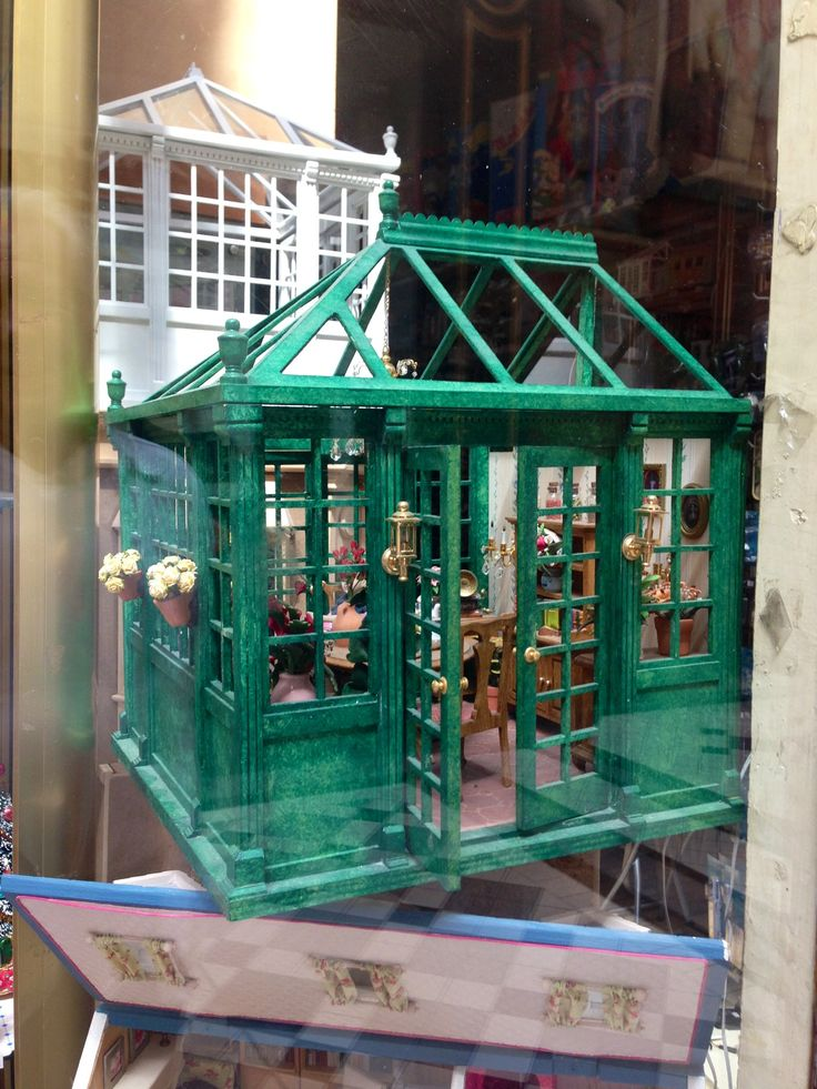 25 Best Dollhouse Conservatory Images On Pinterest