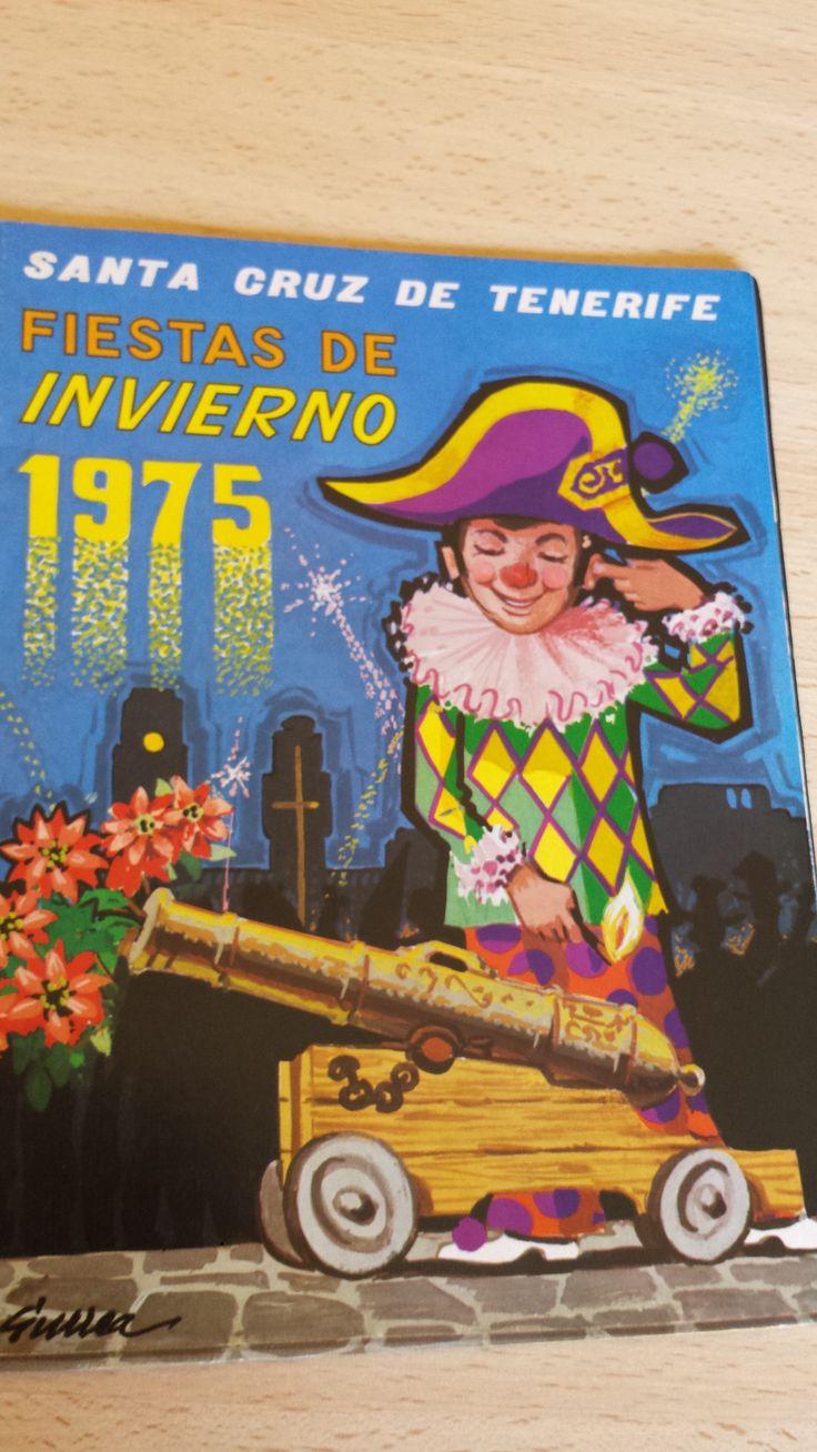 Carnaval de Santa Cruz de Tenerife, año 1975. Fiestas de Invierno