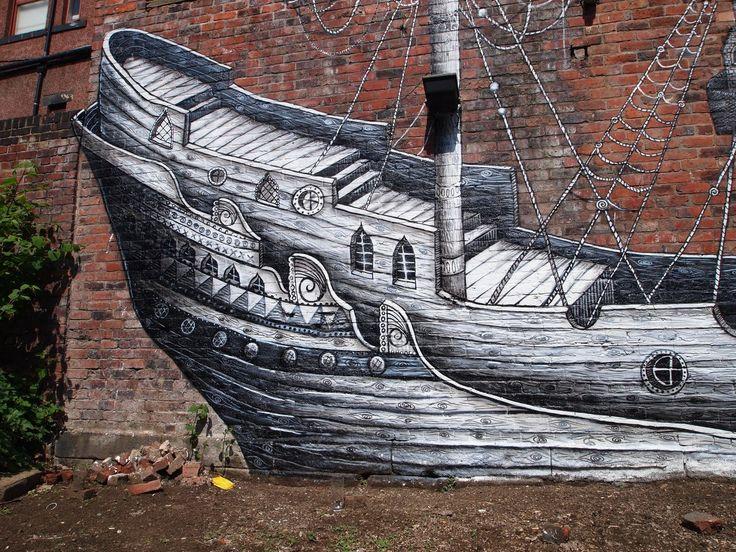 Woodstock, Graffiti.