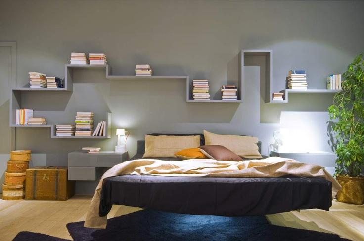 Fluttua Bed by Daniele Lago, lightness mood