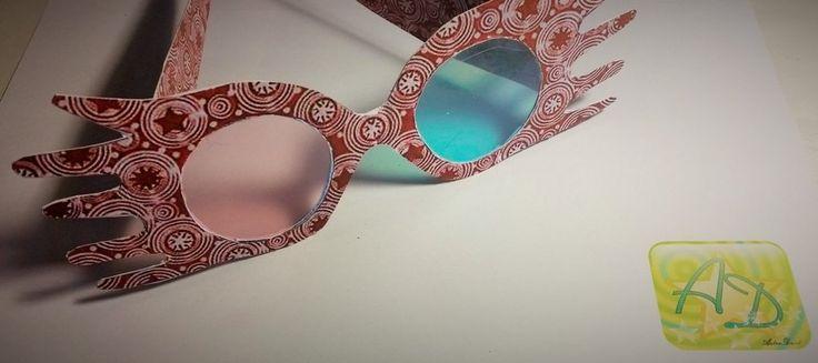 Luna Lovegood inspired glasses