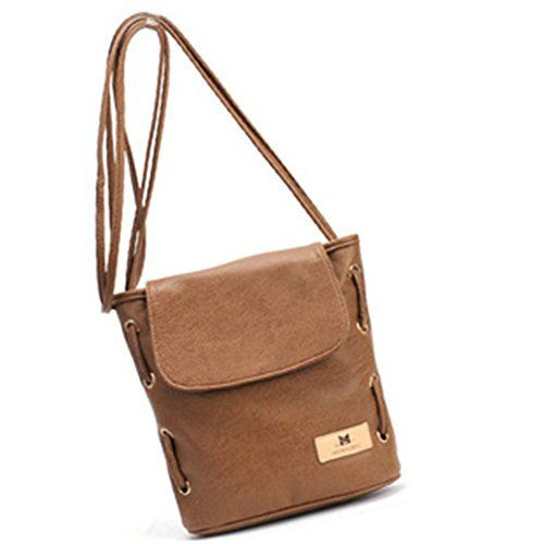 ShiningDotting handbag Japanese retro cute color bucket bag Xiekua package bag(c4) ** You can find out more details at the link of the image.