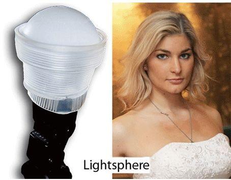 Si chiama Gary Fong Lightsphere ed un diffusore flash di forma circolare che promette di dare il meglio di sè nelle foto di ritratto.      In realtà si tratta semplicemente di un cono in gomma morbida al quale si possono applicare diversi accessori