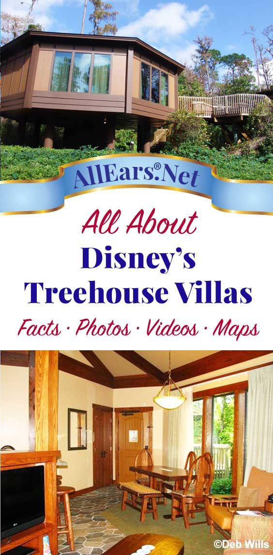 Everything you want to know about Disney's Treehouse Villas in Saratoga Springs at Walt Disney World | AllEars.net