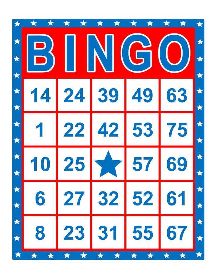 Bingo cards 1000 cards 1 per page immediate pdf