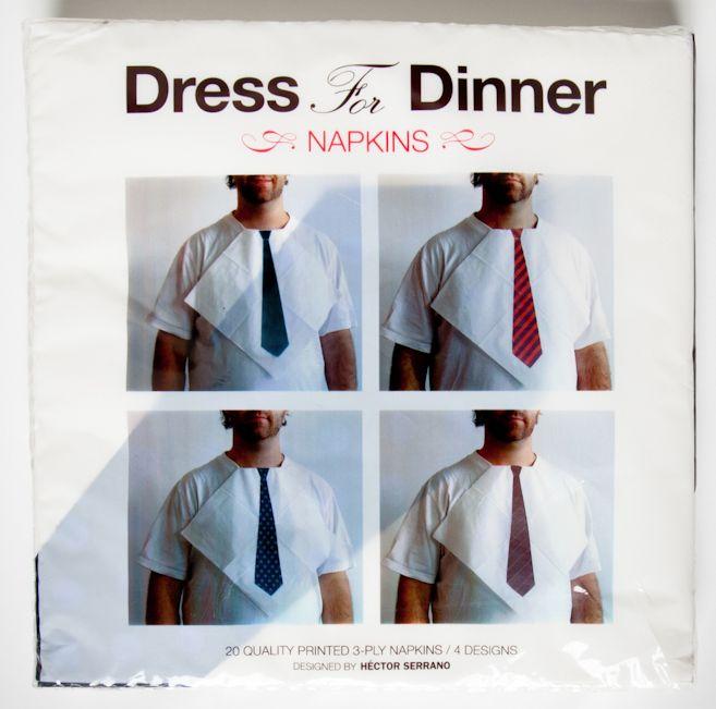 Dress For Dinner Napkins.